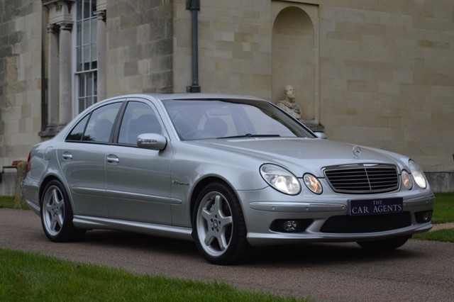 used Mercedes E55 AMG V8 in hitchin-hertfordshire