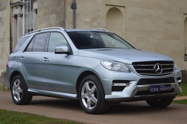 used Mercedes ML250 BLUETEC AMG SPORT in hitchin-hertfordshire
