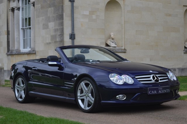 used Mercedes SL SL 350 SPORT EDITION in hitchin-hertfordshire