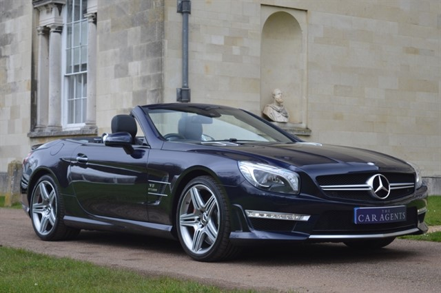 used Mercedes SL Delivered to Terry of Flitwick in hitchin-hertfordshire