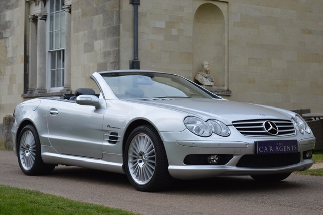 used Mercedes SL SL 55 AMG KOMPRESSOR in hitchin-hertfordshire