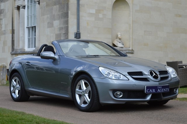 used Mercedes SLK200 SLK 200 KOMPRESSOR in hitchin-hertfordshire
