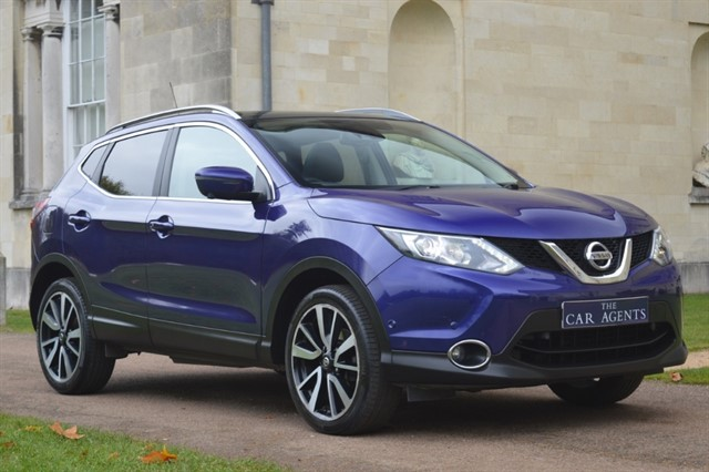 used Nissan Qashqai DCI TEKNA in hitchin-hertfordshire