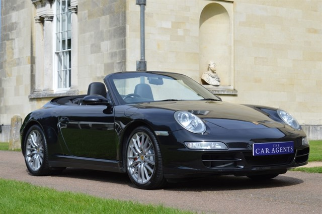 used Porsche 911 CARRERA 4S TIPTRONIC S in hitchin-hertfordshire