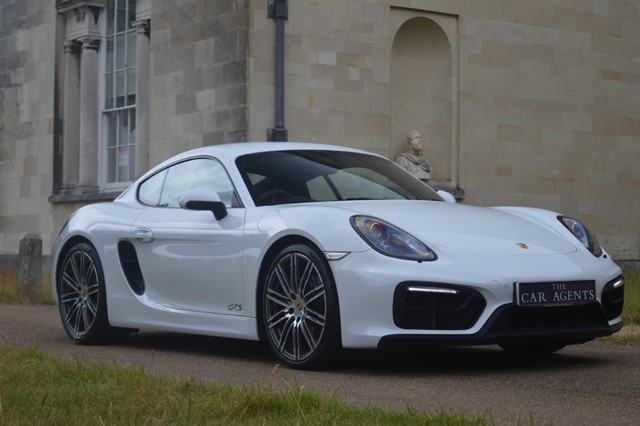 used Porsche Cayman GTS PDK in hitchin-hertfordshire