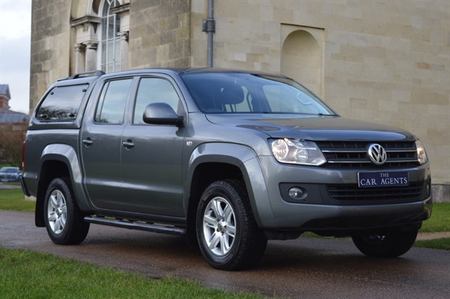 used VW Amarok DC TDI TRENDLINE in hitchin-hertfordshire