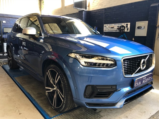 used Volvo XC90 T8 TWIN ENGINE R-DESIGN PRO AWD in hitchin-hertfordshire
