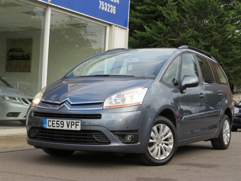 used Citroen C4 HDI VTR PLUS EGS GRAND PICASSO in bury-st-edmunds