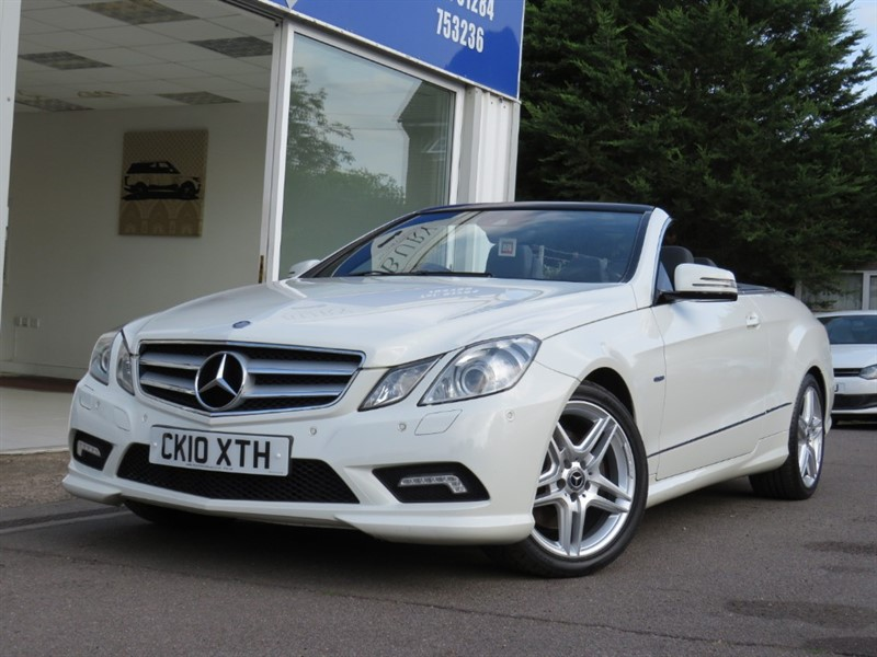 used Mercedes E350 CDI BLUEEFFICIENCY SPORT in bury-st-edmunds