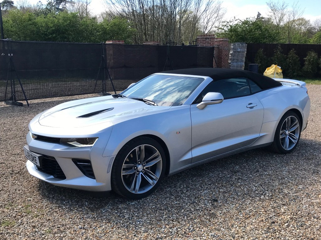 Used Ice Silver Chevrolet Camaro For Sale Virginia Water