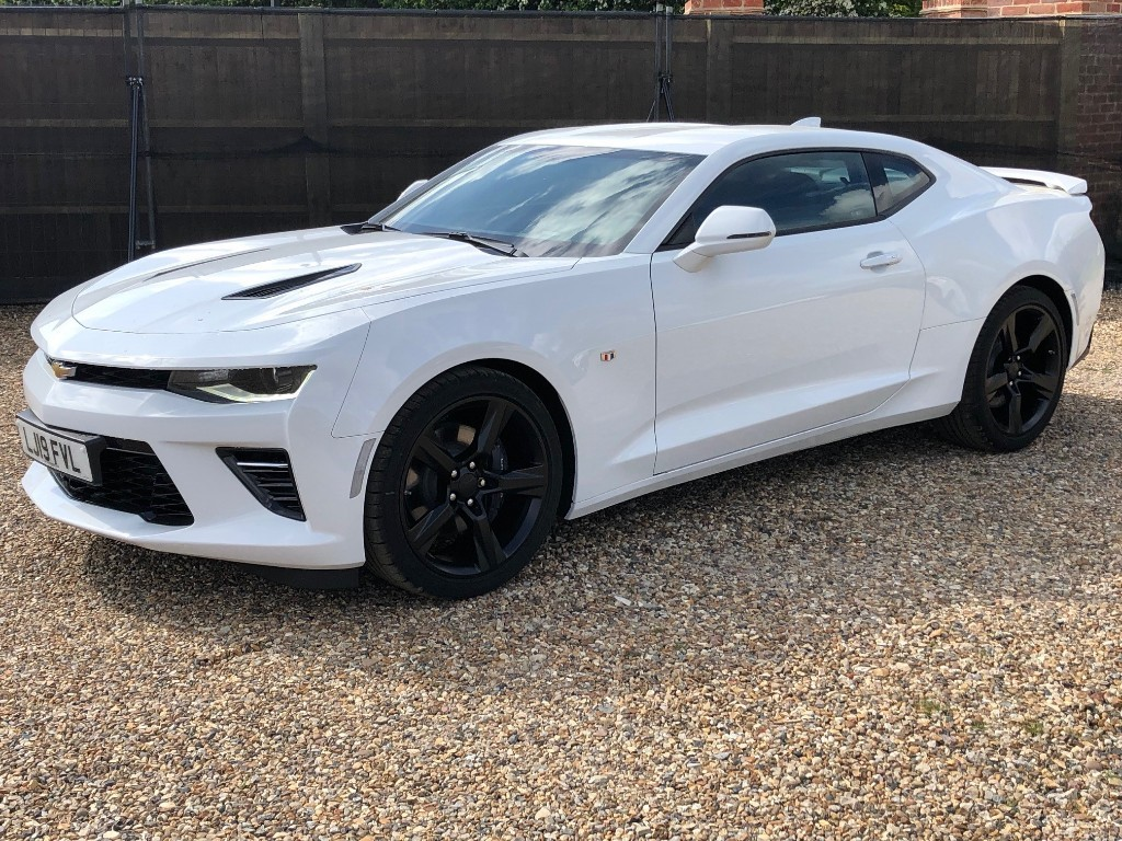 Used White Chevrolet Camaro For Sale Virginia Water Surrey