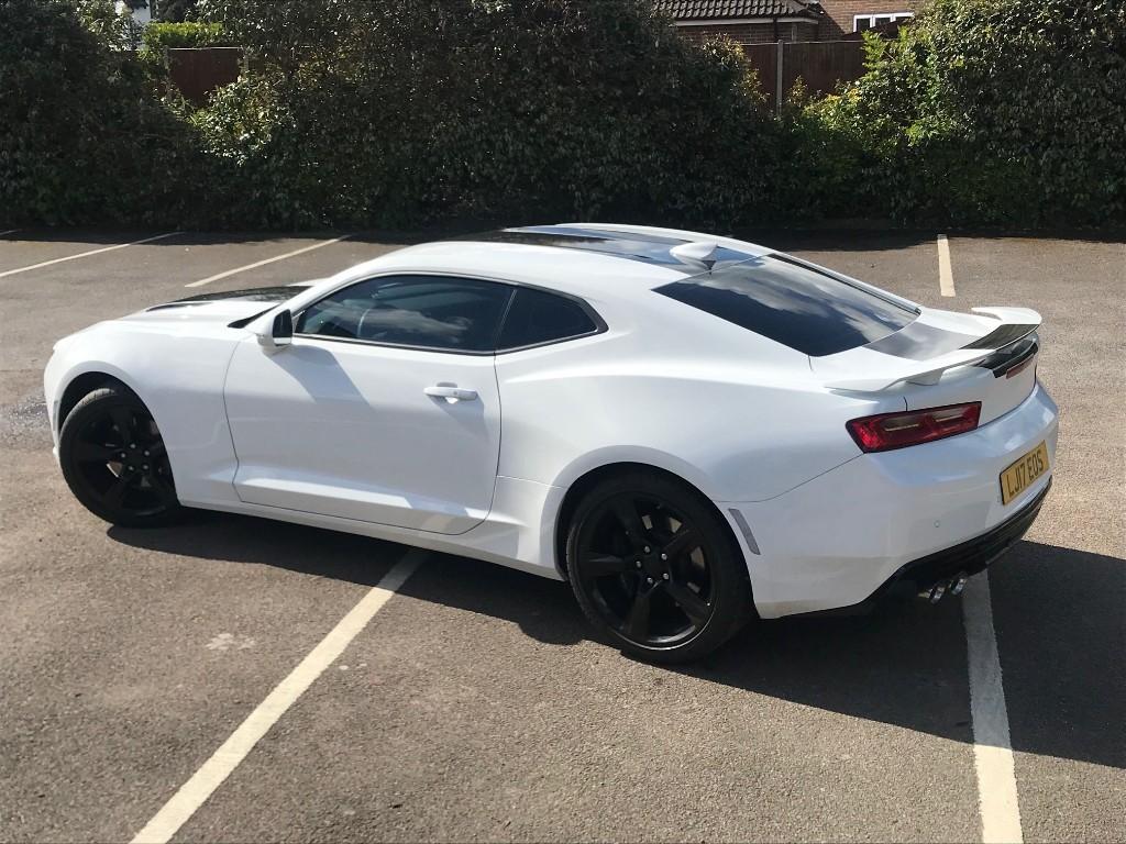Used White Chevrolet Camaro For Sale Virginia Water Surrey