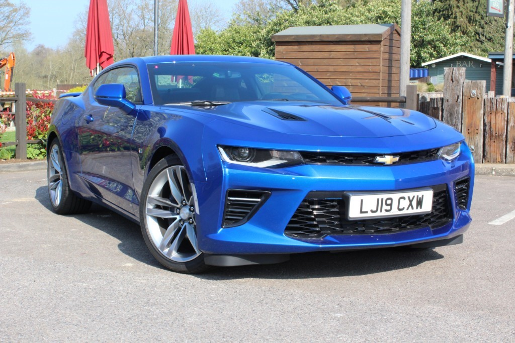 Used Hyper Blue Chevrolet Camaro For Sale Virginia Water