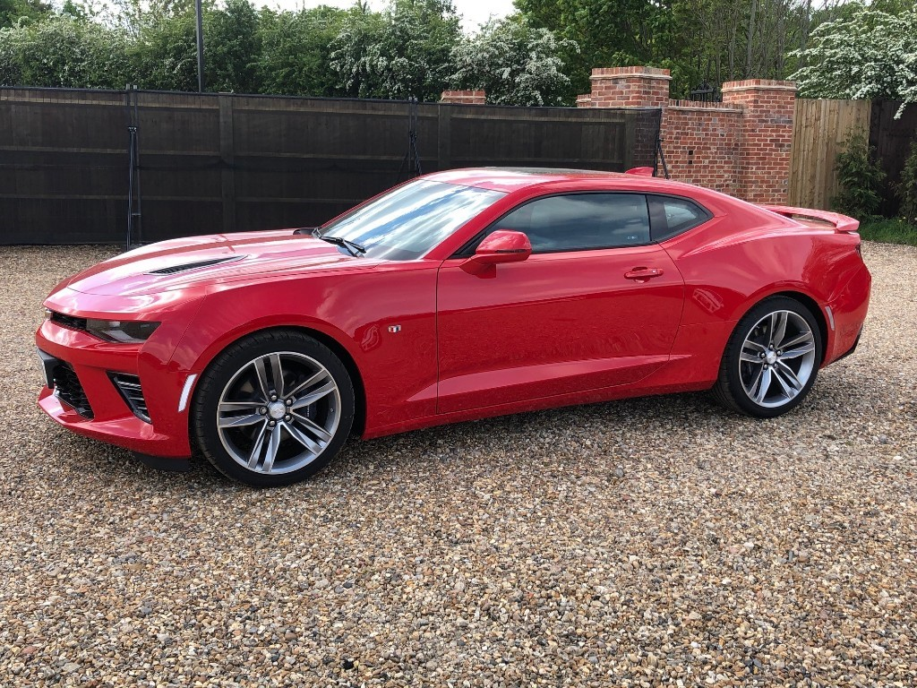 Used Red Hot Chevrolet Camaro For Sale Virginia Water