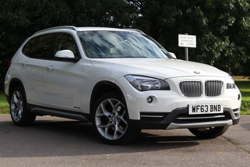 used BMW X1 SDRIVE18D XLINE in virginia-water