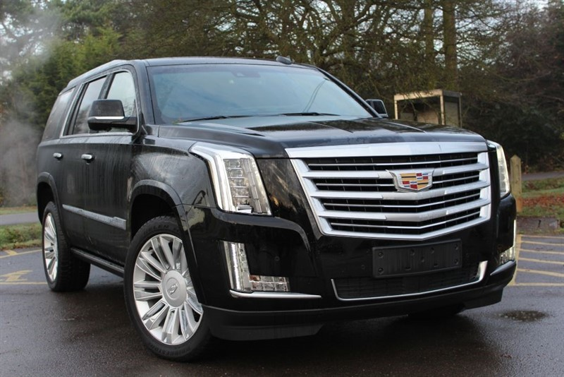 used Cadillac Escalade Platinum in virginia-water