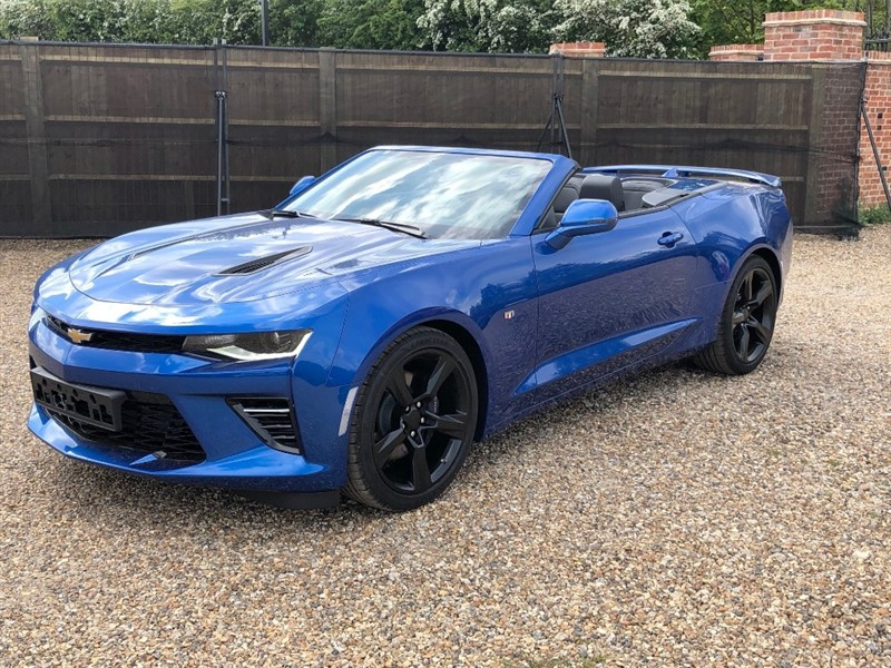 used Chevrolet Camaro V8 Sport in virginia-water