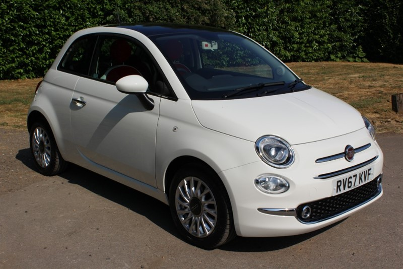 used Fiat 500 1.2 LOUNGE in virginia-water