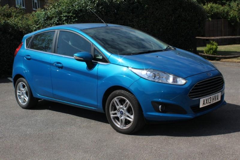 used Ford Fiesta 1.0 ZETEC in virginia-water