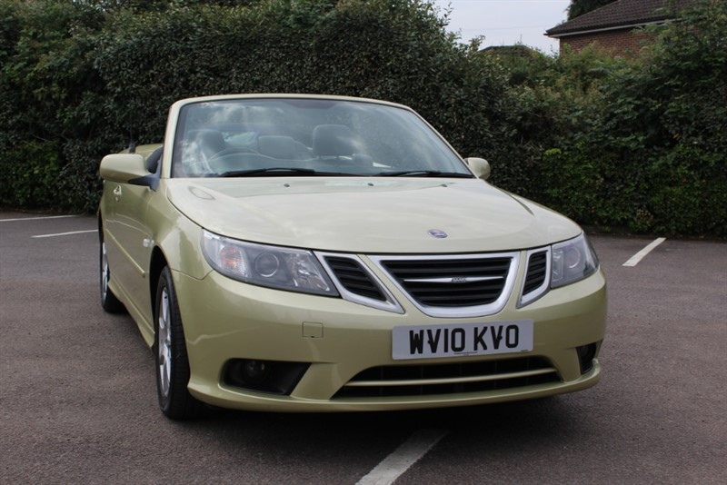 used Saab 9-3 1.9 TID LINEAR Convertible in virginia-water