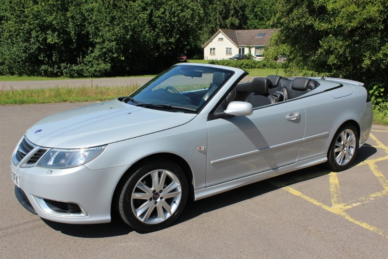 used Saab 9-3 2.0T AERO CONVERTIBLE in virginia-water