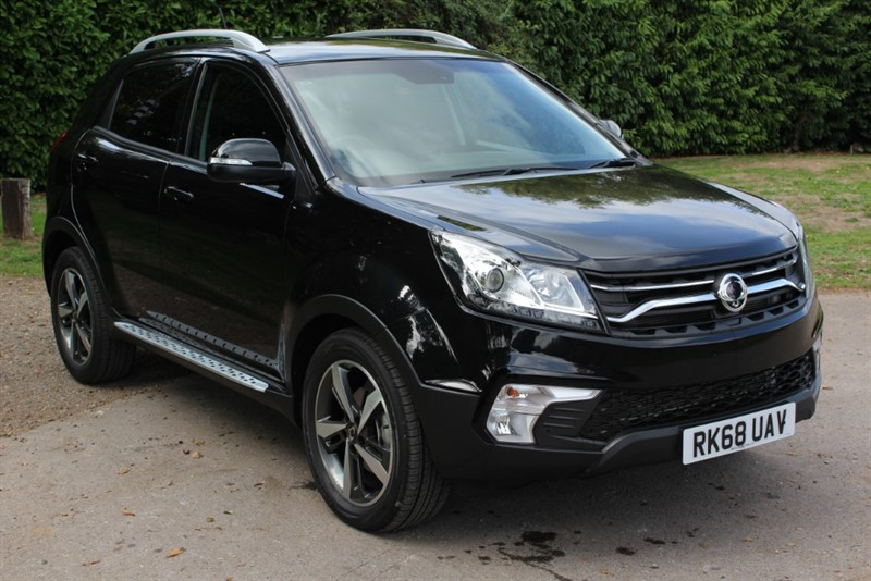 used Ssangyong Korando 2.2D ELX 4x4 in virginia-water