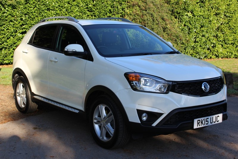 used Ssangyong Korando 2.0D ELX4 Auto 4x4 in virginia-water