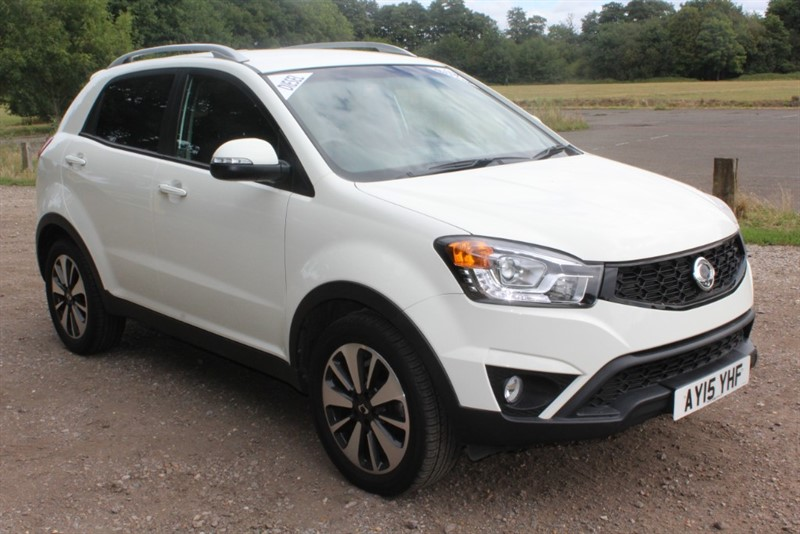used Ssangyong Korando 2.0D LIMITED EDITION LE in virginia-water
