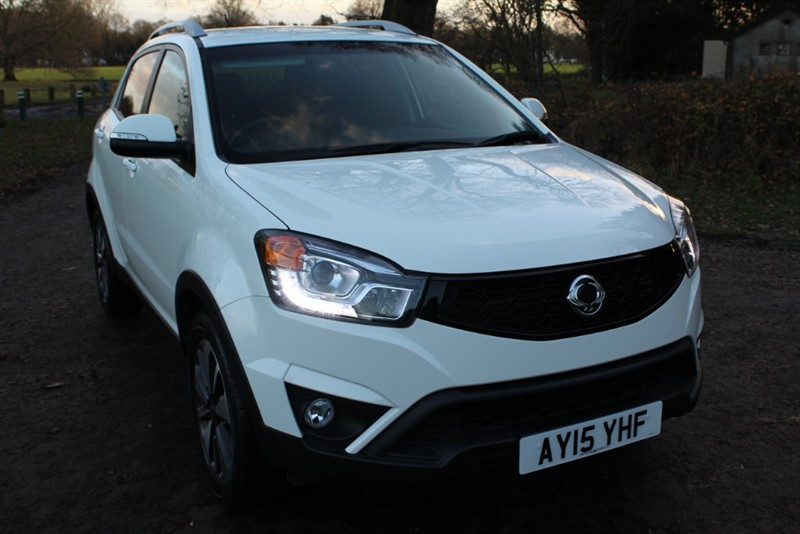 used Ssangyong Korando 2.0D LIMITED EDITION in virginia-water