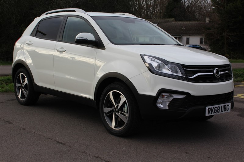 used Ssangyong Korando 2.2 ELX Auto in virginia-water