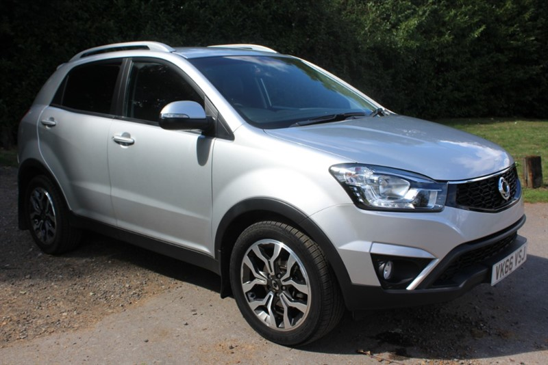 used Ssangyong Korando 2.2D ELX AUTO in virginia-water