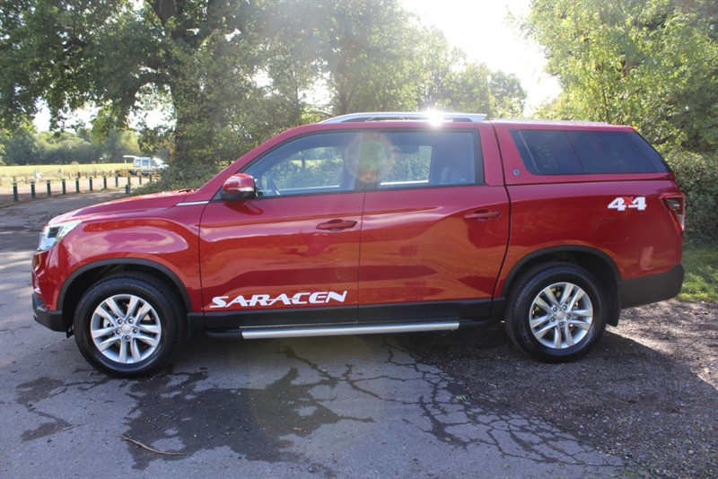 used Ssangyong Musso 2.2D SARACEN X AUTO 4X4 in virginia-water