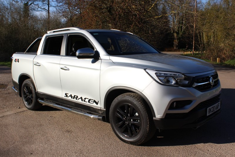 used Ssangyong Musso 2.2D SARACEN AUTO in virginia-water