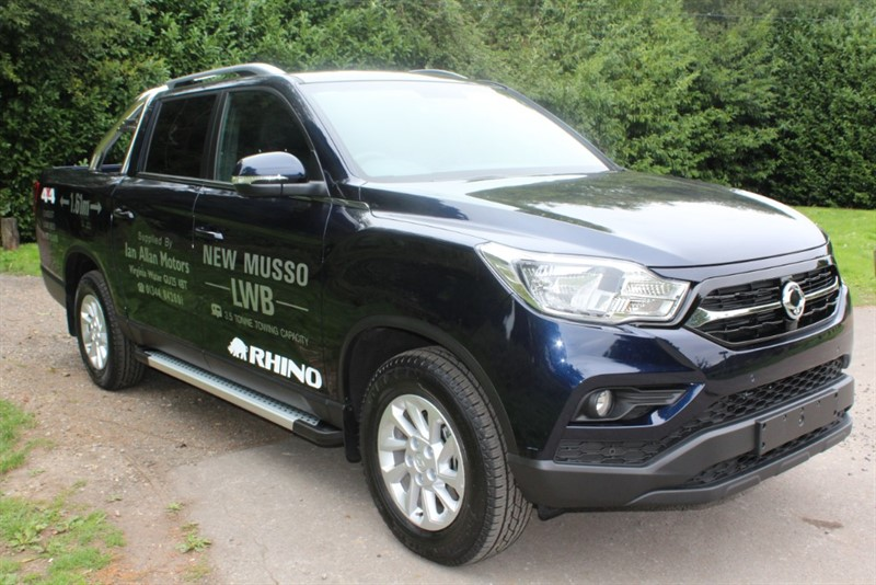 used Ssangyong Musso 2.2D RHINO AUTO in virginia-water