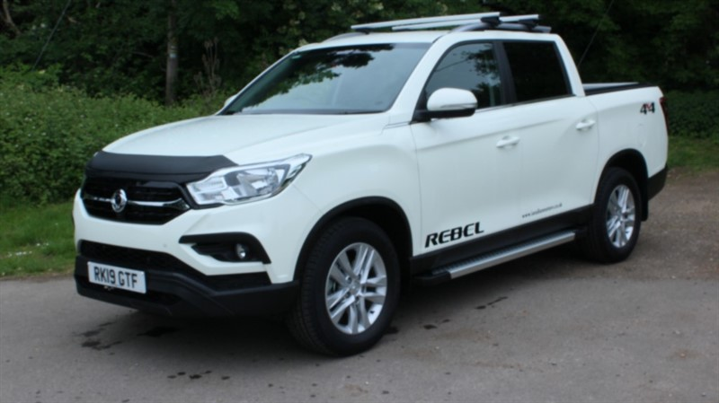 used Ssangyong Musso 2.2D Rebel in virginia-water