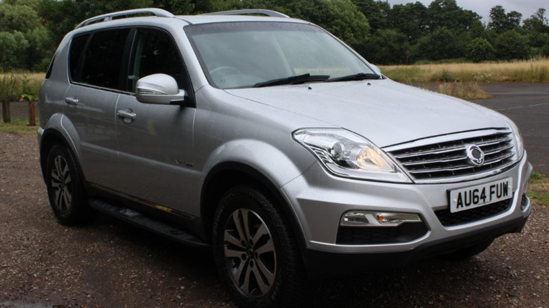 used Ssangyong Rexton 2.0D EX AUTO 4X4 in virginia-water