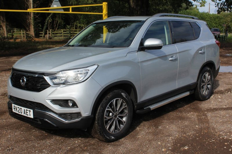 used Ssangyong Rexton 2.2D ELX AUTO 4X4 in virginia-water