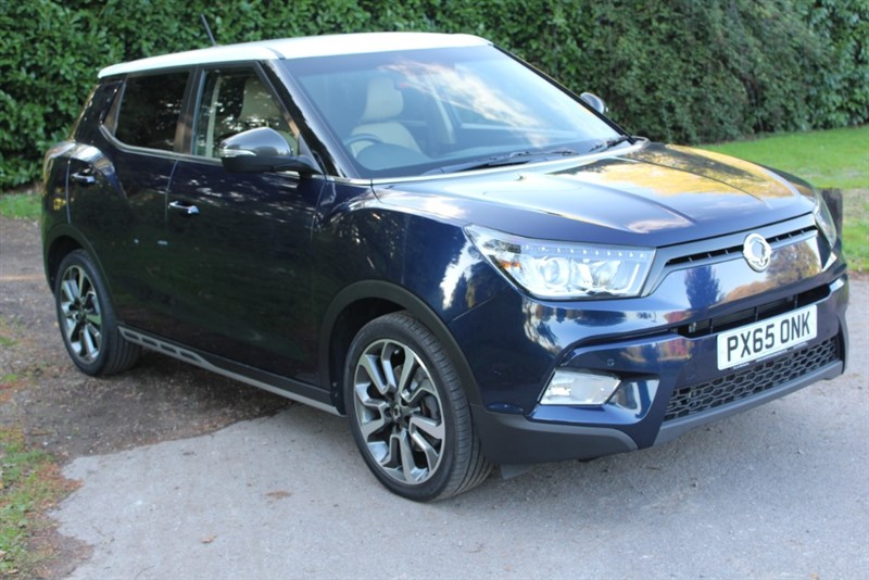 used Ssangyong Tivoli 1.6D ELX in virginia-water