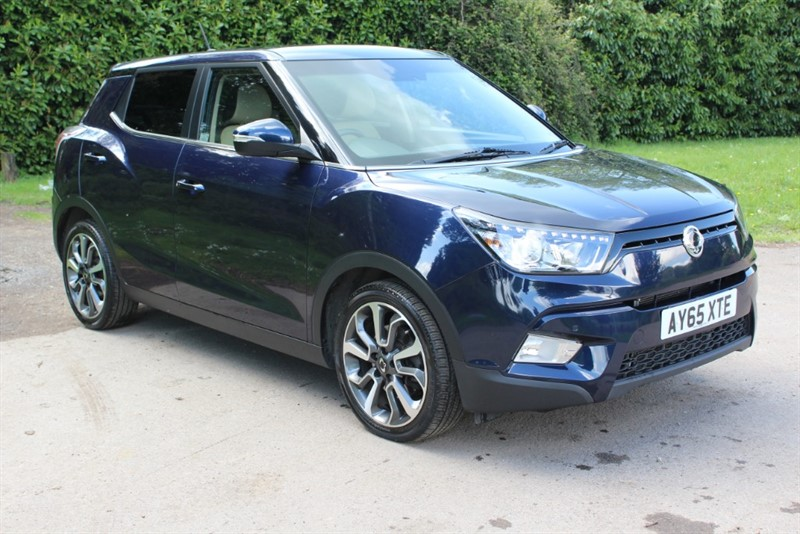 used Ssangyong Tivoli 1.6 ELX AUTO in virginia-water