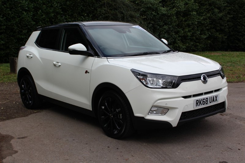 used Ssangyong Tivoli 1.6D ELX 4x4 in virginia-water