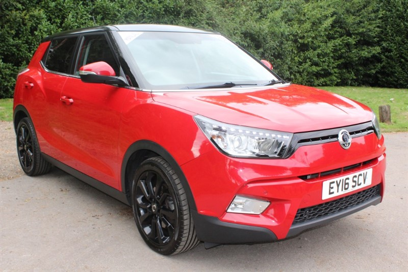 used Ssangyong Tivoli 1.6 ELX STYLE PACK in virginia-water