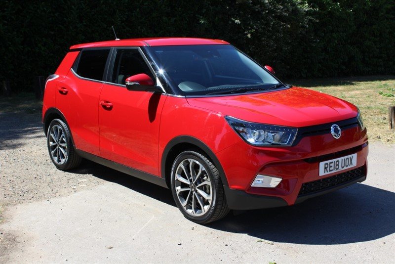 used Ssangyong Tivoli 1.6D ELX Auto in virginia-water