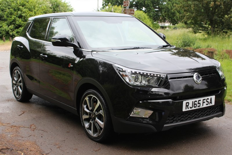 used Ssangyong Tivoli 1.6D ELX AUTO 4X4 in virginia-water