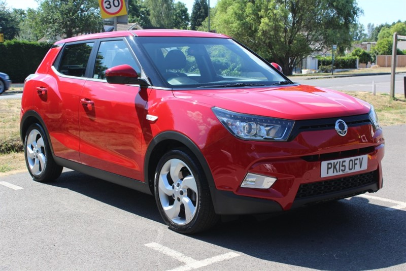 used Ssangyong Tivoli 1.6 EX in virginia-water