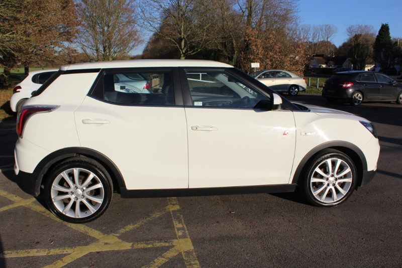 used Ssangyong Tivoli 1.6D EX 4X4 in virginia-water