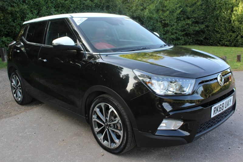 used Ssangyong Tivoli 1.6D ELX AUTO STYLE PACK in virginia-water