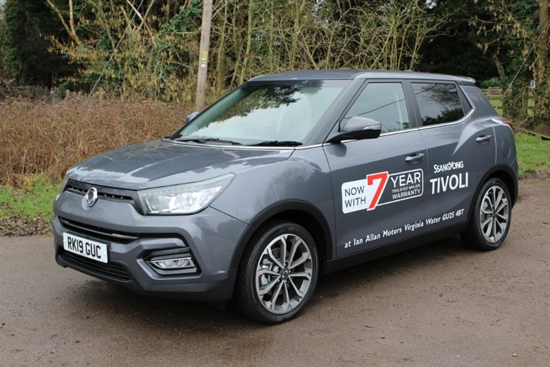 used Ssangyong Tivoli 1.6 Ultimate Auto in virginia-water