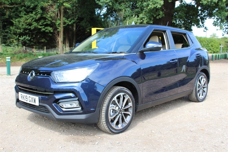 used Ssangyong Tivoli 1.6 Ultimate in virginia-water