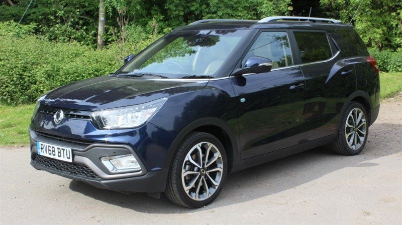 used Ssangyong Tivoli XLV 1.6D ELX 4X4 in virginia-water