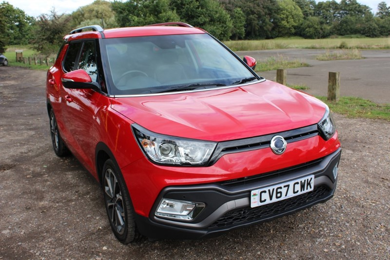 used Ssangyong Tivoli XLV 1.6D ELX AUTO in virginia-water